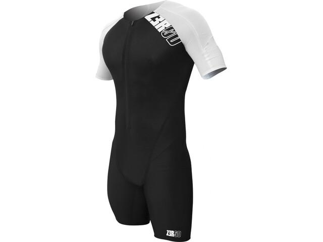 Z3R0D Elite Time Trial Strój triathlonowy Mężczyźni, black/white